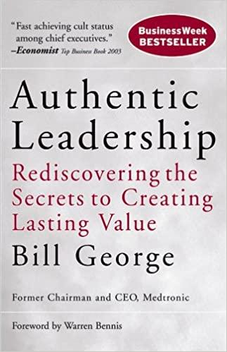 Authentic Leadership book